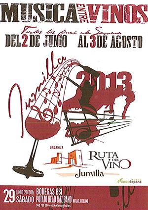 Música entre vinos 2013