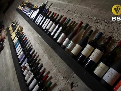Colección de botellas de BSI