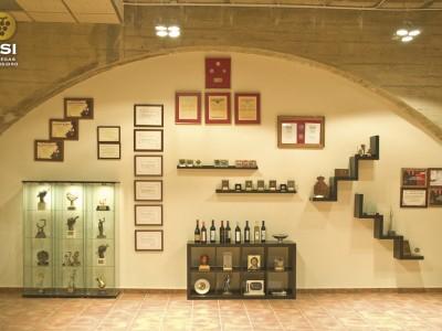 Sala de exposición Museo BSI