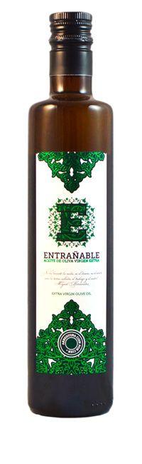 Botella Aceite Entrañable Arbequina