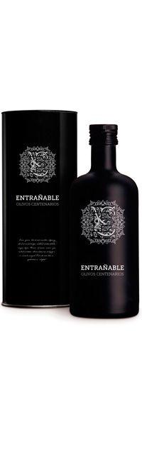 Botella Aceite Entrañable Olivos Centenarios