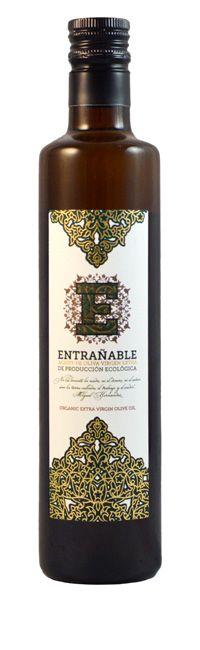 Botella Aceite Entrañable Ecológico