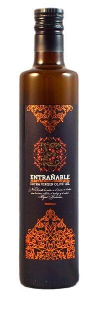Botella aceite Entrañable Premium