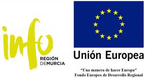 Logo Info Murcia y Unión Europea