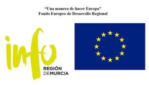 Logo UE e INFO Murcia